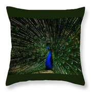 He Is The King Throw Pillow