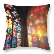 He Shall Bring You Into The Light Throw Pillow