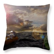 He Who Dared To Care Throw Pillow