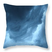 Head For Cover Throw Pillow