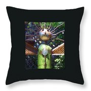Head For Detail Throw Pillow