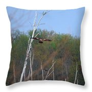 Head For The Tree Throw Pillow