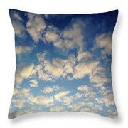 Head In The Clouds- Art By Linda Woods Throw Pillow