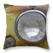 Head Light Throw Pillow