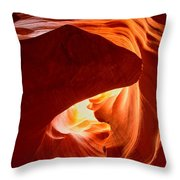Head Of The Dog Portrait Throw Pillow