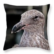 Head Shot Throw Pillow