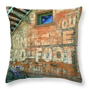 Head To Foot Throw Pillow