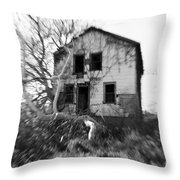 Headache Throw Pillow