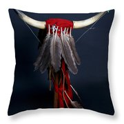 Headdress Throw Pillow