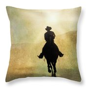 Headed Home L Throw Pillow