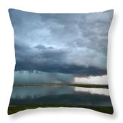 Headed Our Way Throw Pillow