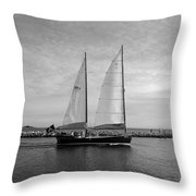 Headed Out To Sea Throw Pillow