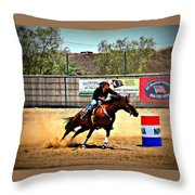 Heading For Home Throw Pillow