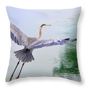 Heading For The Treetops Throw Pillow