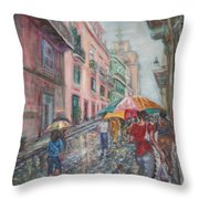 Heading Home In Havava Throw Pillow