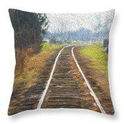 Heading Home Throw Pillow