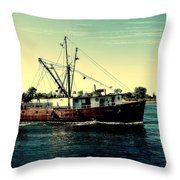 Heading Out - Jersey Shore Throw Pillow