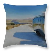 Heading South Out Of The Snow Throw Pillow