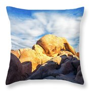 Heading To Arch Rock Throw Pillow