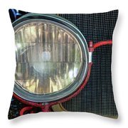 Headlight Throw Pillow