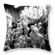 Heads Of State Throw Pillow