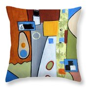 Headspin II Throw Pillow