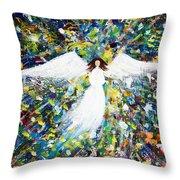 Healing Angel 1 Throw Pillow