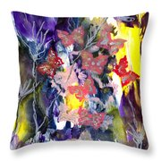 Healing Breath For  Eve Throw Pillow