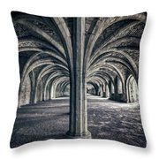 Healing Hands Of Time Throw Pillow