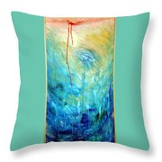 Healing II Throw Pillow