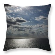 Healing Light Throw Pillow