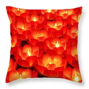 Healing Lights 2 Throw Pillow