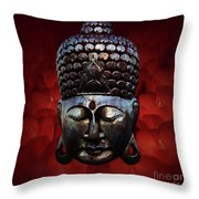 Healing Lights 3 Throw Pillow