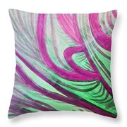 Healing Waves Throw Pillow
