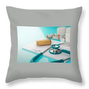 Health Insurance Plans Throw Pillow