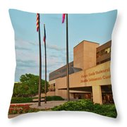 Health Sciences Medical Center Throw Pillow