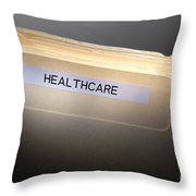 Healthcare Throw Pillow