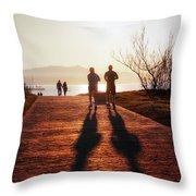 Healthy Lifestyle Throw Pillow