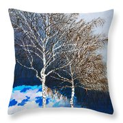 Healthy Trees Throw Pillow