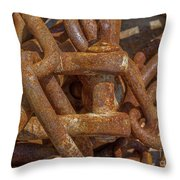 Heaped Chains 03 Throw Pillow