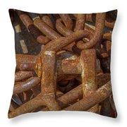 Heaped Chains 04 Throw Pillow