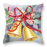 Hear Them Ring Throw Pillow