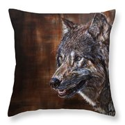 Hearing Voices Throw Pillow