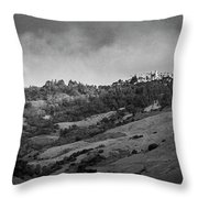 Hearst Castle Throw Pillow by Mary Lee Dereske