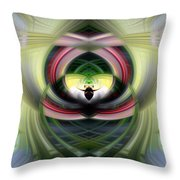 Heart 14 - Yin Throw Pillow