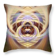 Heart 18 - Yang Throw Pillow