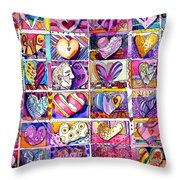 Heart 2 Heart Throw Pillow