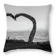 Heart Arch Throw Pillow
