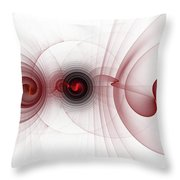 Heart Break - Abstract Throw Pillow