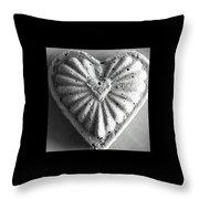 Heart Cake Throw Pillow